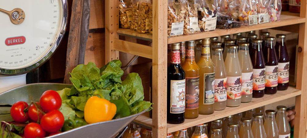 Well stocked farm store