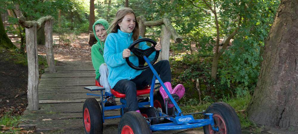 Have fun with the go karts!