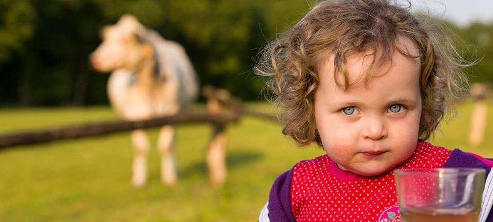 Children love the farm!