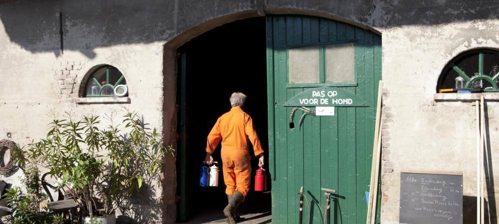 The working Dutch farm