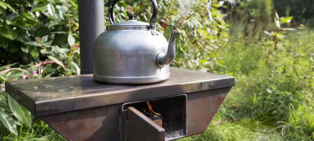 Woodfired stove