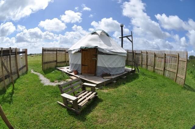 Private yurts