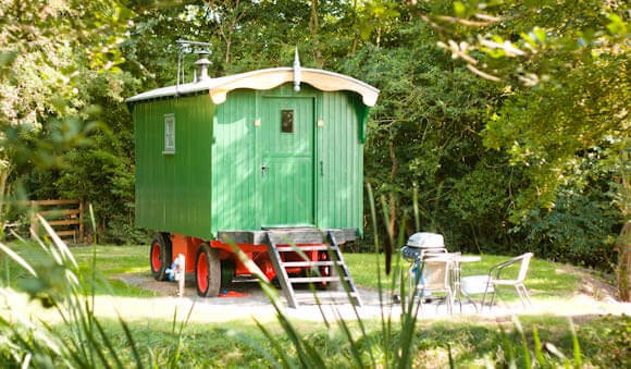 View on the Shepherds Hut