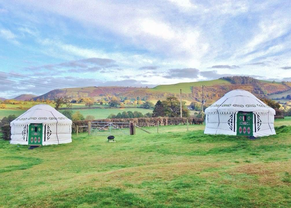 View on the Yurts