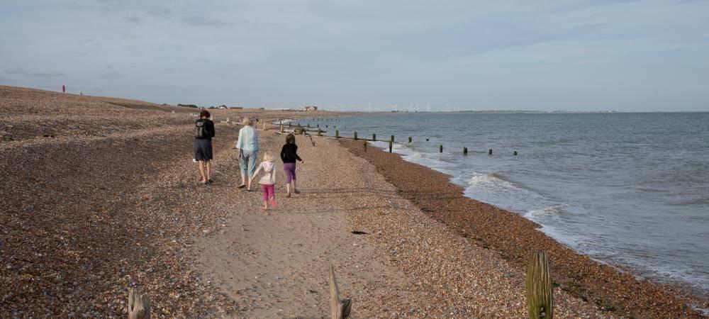 Nearby seaside beaches