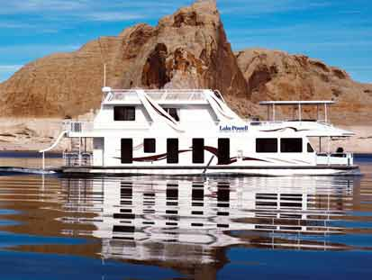 The Odyssey Houseboat in all her glory.