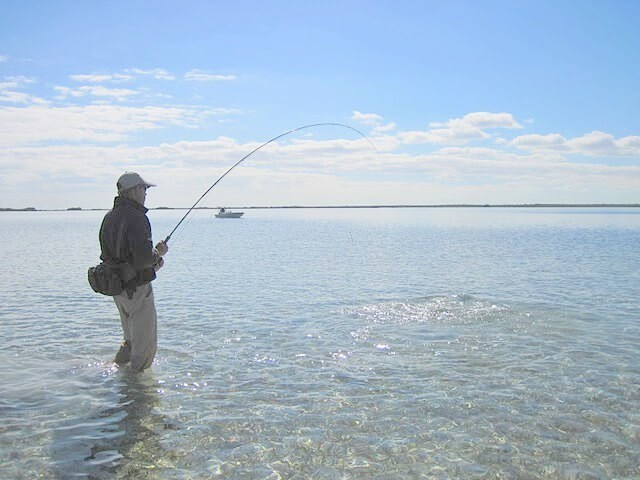 Wading and fly fishing: an anglers dream vacation