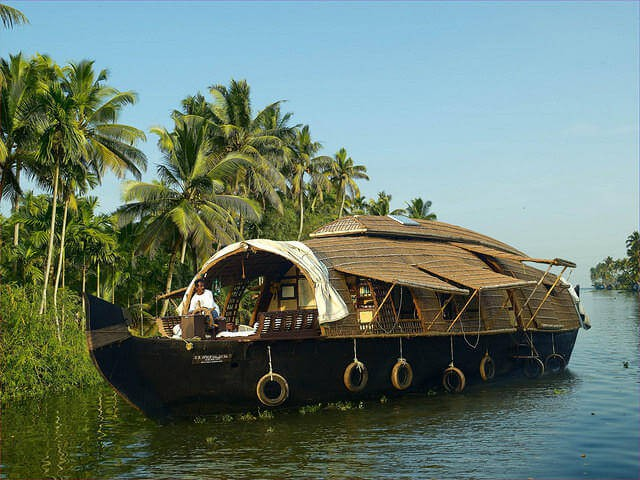 The Kerala Houseboat is truly a floating dream.