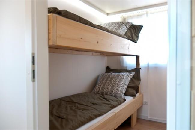 Bunk beds.