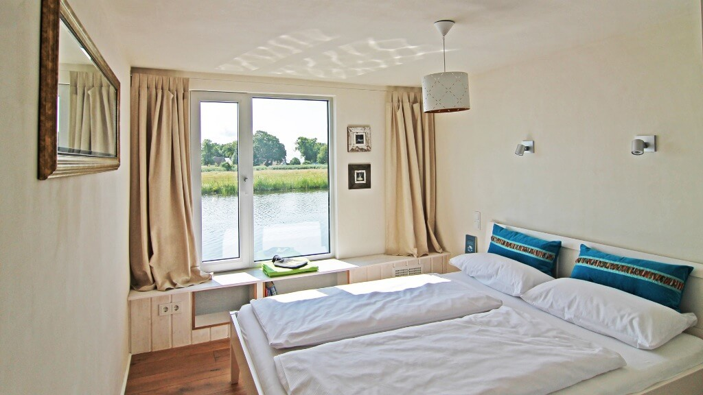 All bedrooms have a great water view.