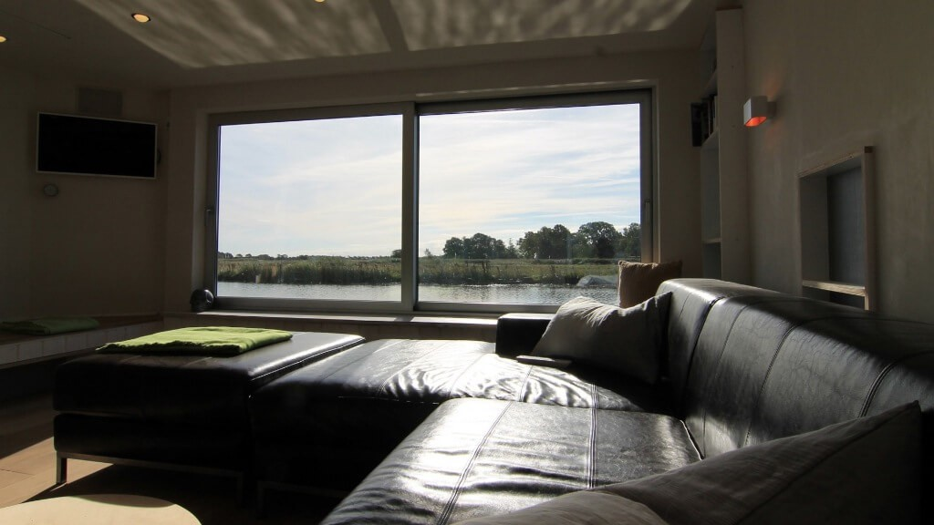View on the living room.