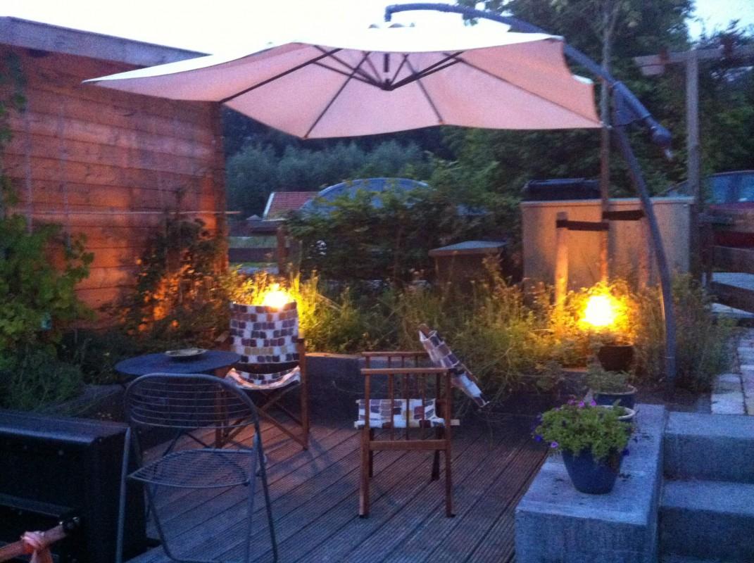 the garden by night