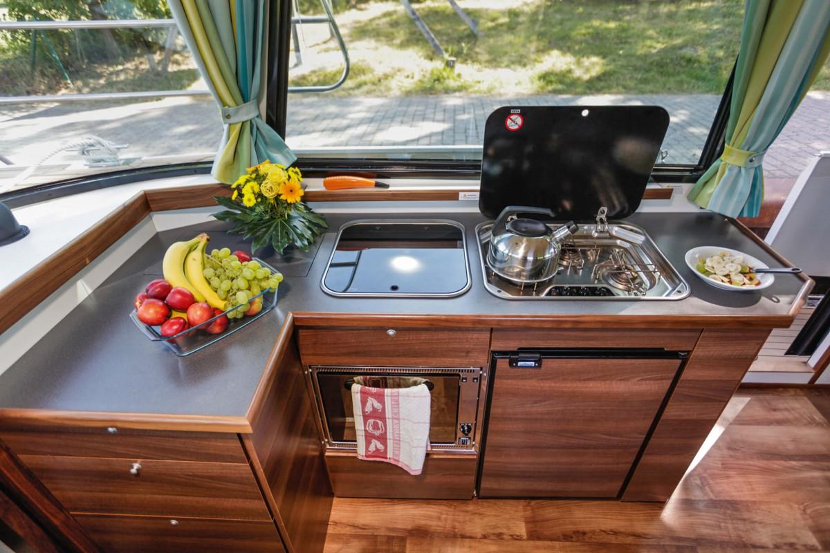 spacious kitchenette
