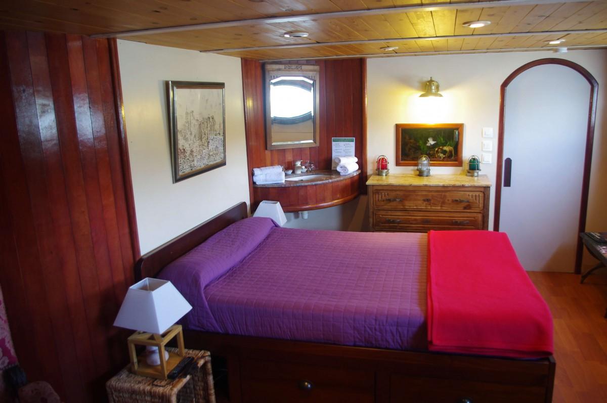The Captain's Bedroom.