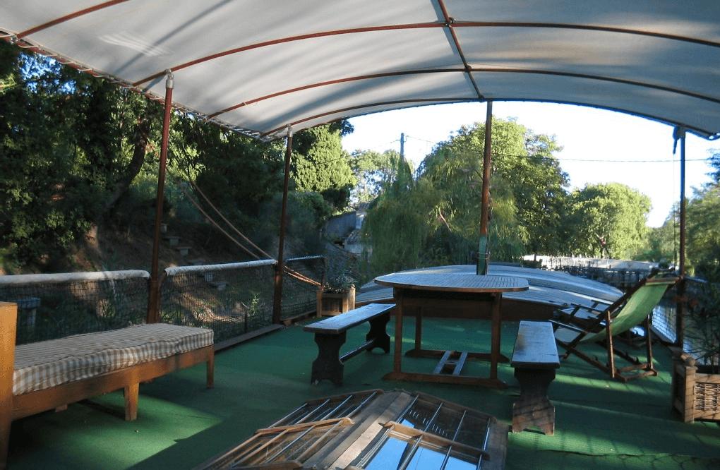 Sundeck terrace, nice spot for relaxing