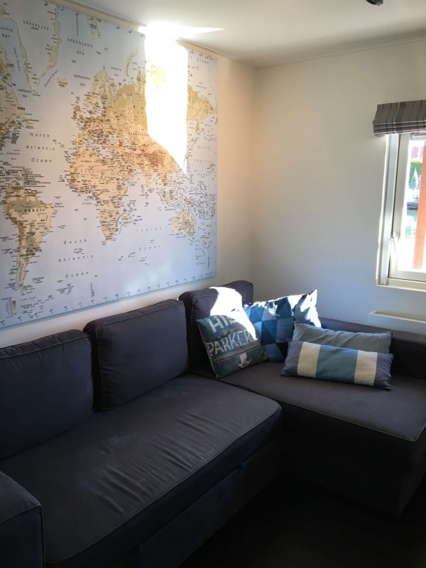 Television Room with Sofa Bed can be used as co