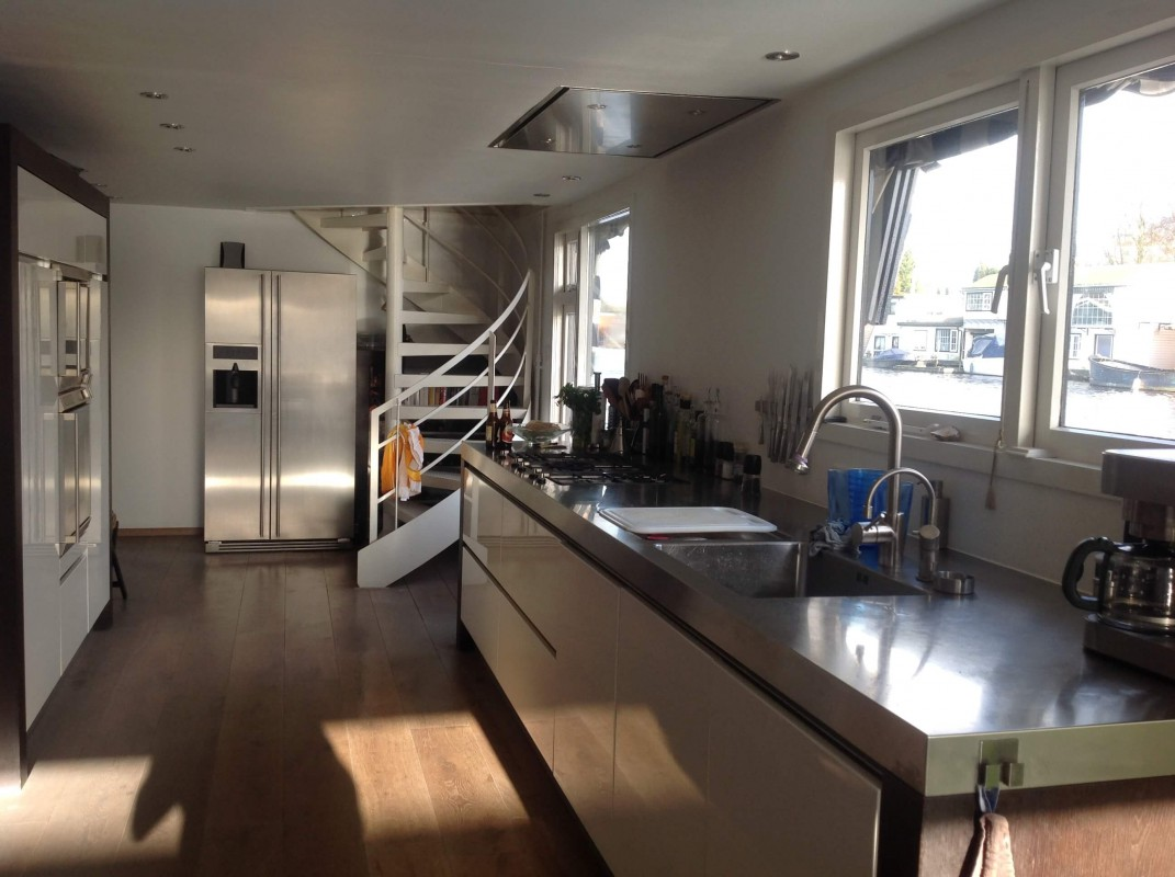 Fully equipped kitchen, which is a shared space.
