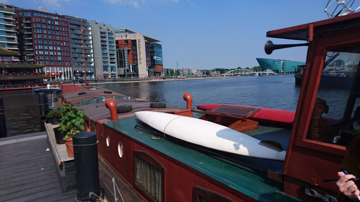 We offer two free canoes!