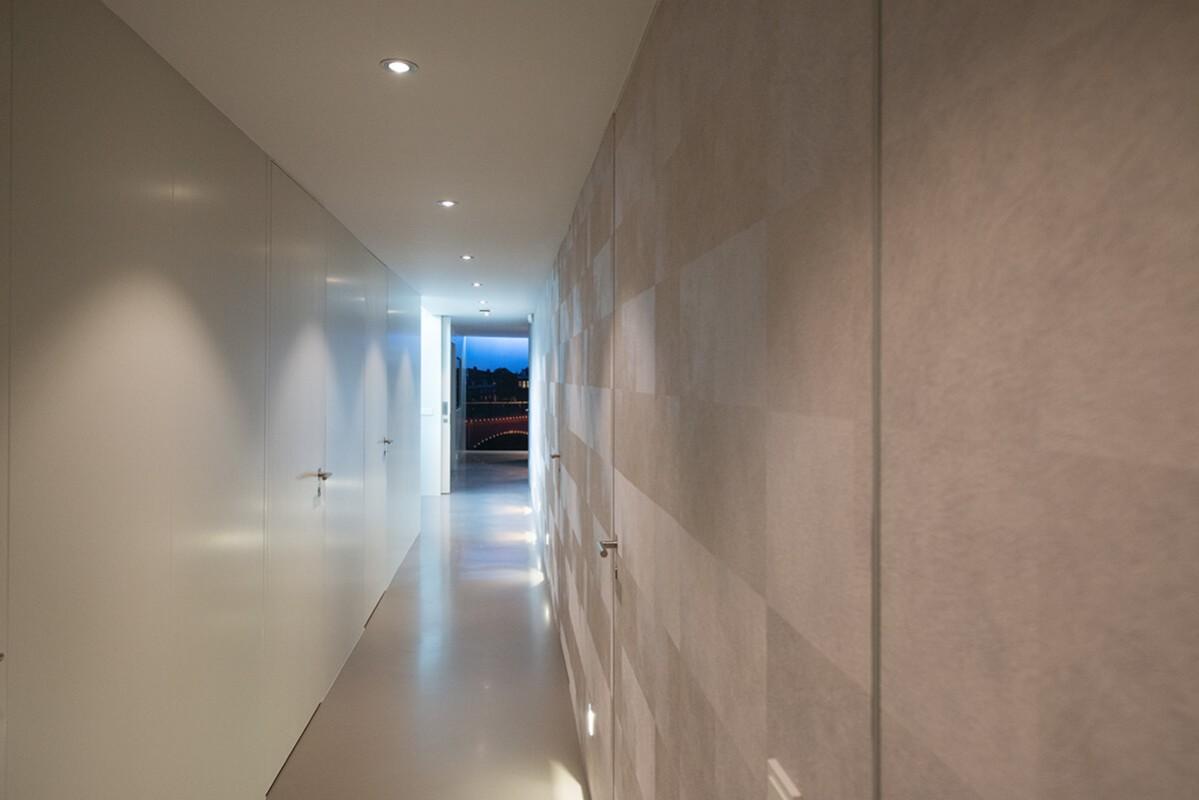 corridor downstairs