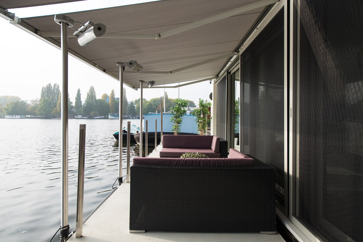private Jetty with terrace heaters