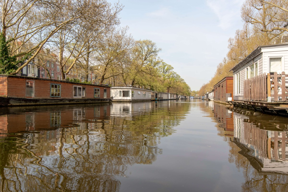 View on canals