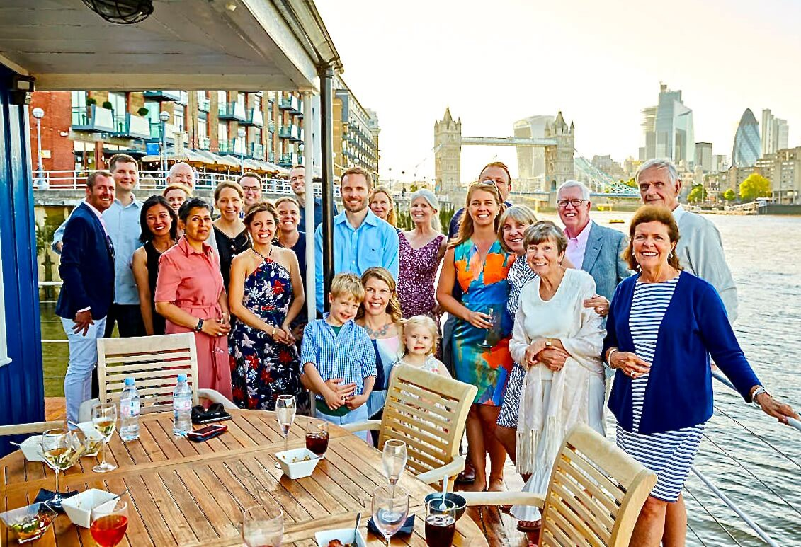 An American family's birthday party on board: Summer 2018