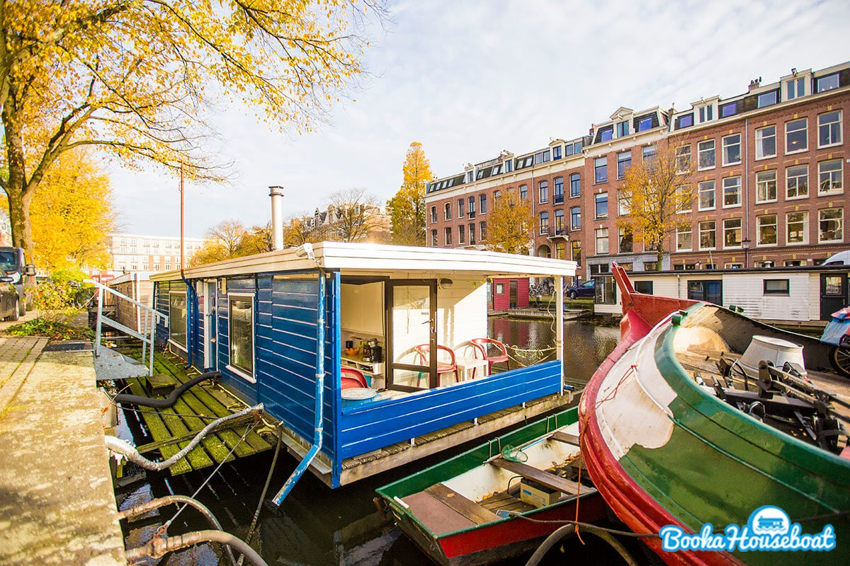 Beautiful, central, quiet, warm, cozy, familyfriendly, private houseboat