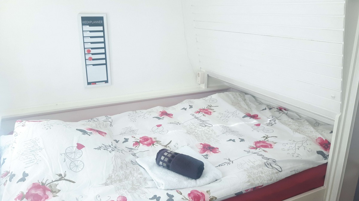 Separate bedroom, ideal for kid(s)