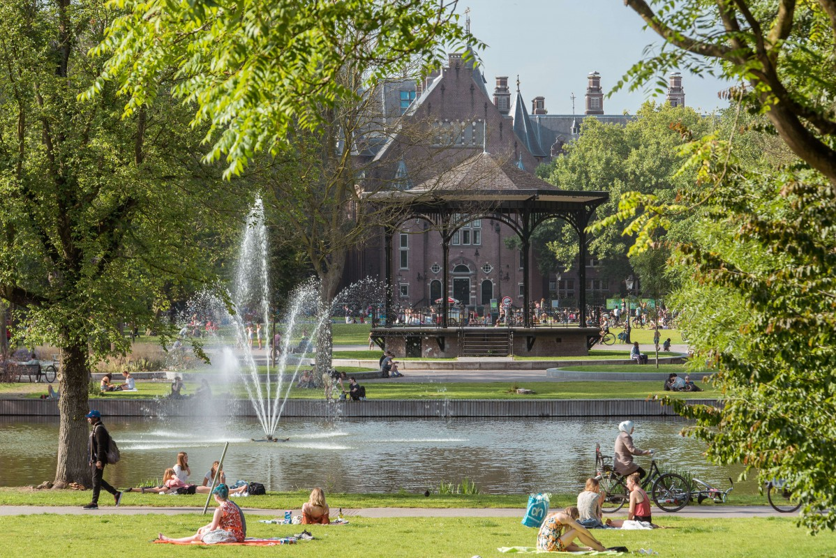 Oosterpark in Summer