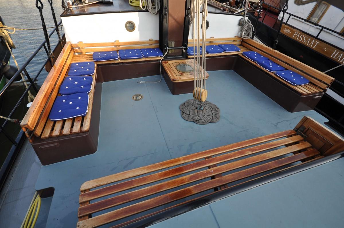Enjoy the sailing trip on deck