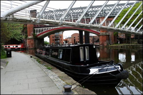 Gorgeous Houseboat Near Manchester City Centre in Manchester (not at our base)