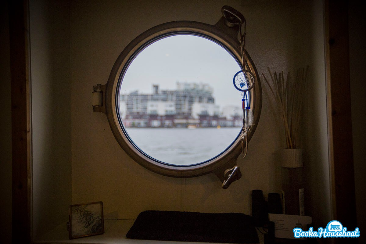 View from the porthole.