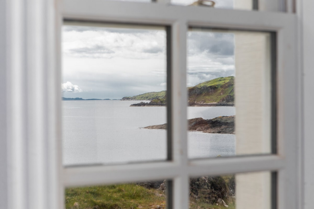 Endless sea views from every window