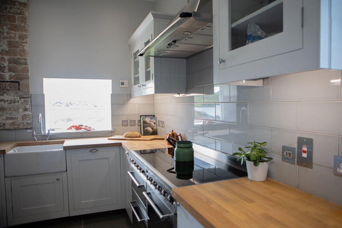 High quality kitchen with more stunning views