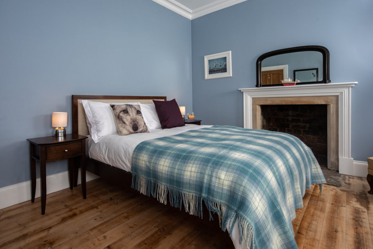 Stylishly, yet simply furnished bedrooms