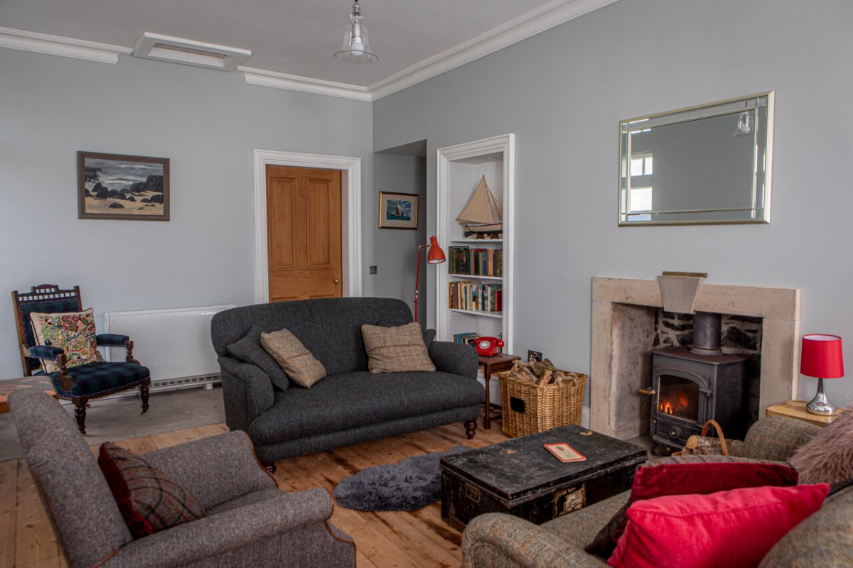 Traditional feel, yet cosy and modern