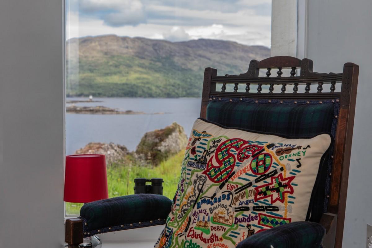 Enjoy sea views from every window