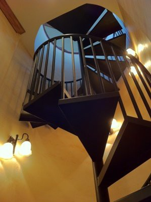 Lighthouse Hill : staircase
