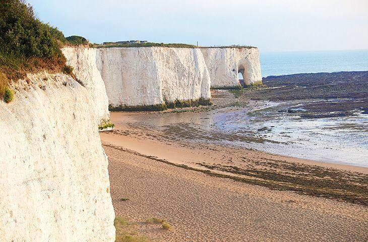 Stunning Kent cliffs and coastline