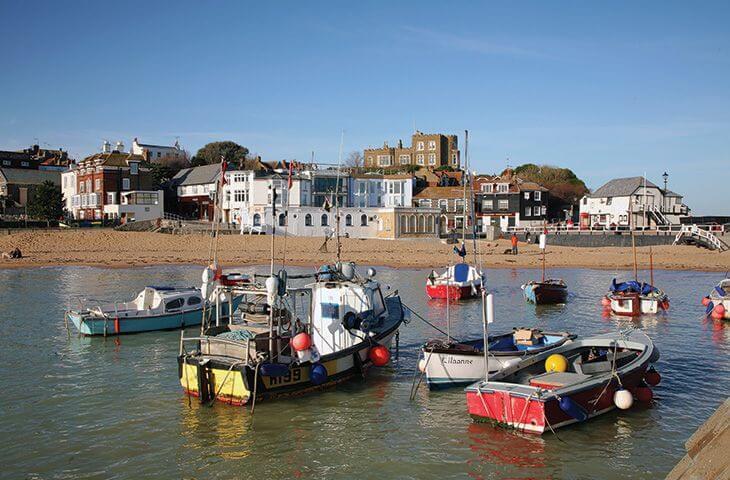 Pretty seaside fishing villages