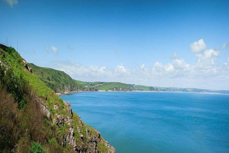 Stunning Devonshire coastline