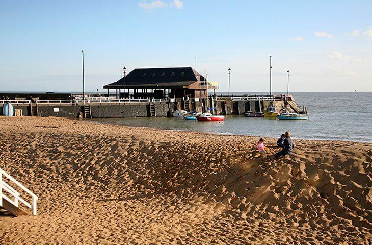 Beautiful English beaches