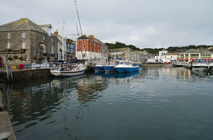 Beautiful seaside fishing villages