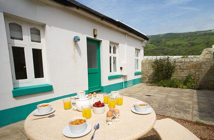 Al fresco dining and perfect breakfasts