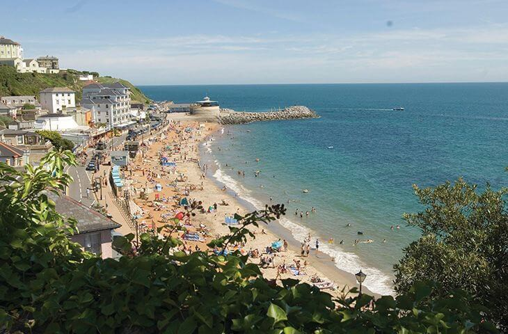 Ventnor beach very close by