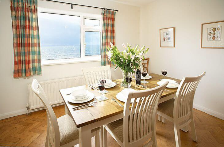 Dining room with lovely views