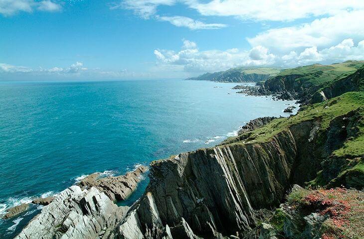 Stunning cliffs and coastline