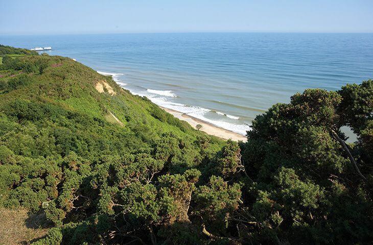 Stunning coastlines