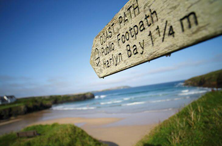 Many coastal pathways to choose from