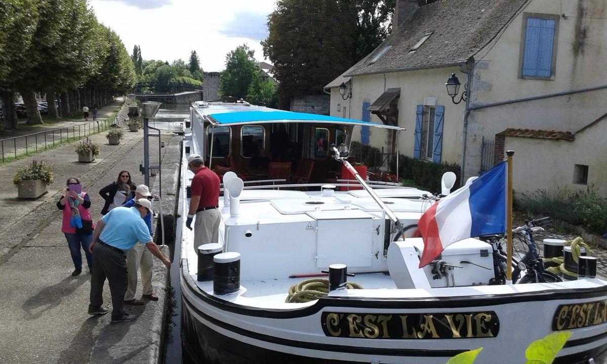 Lock in Montargis